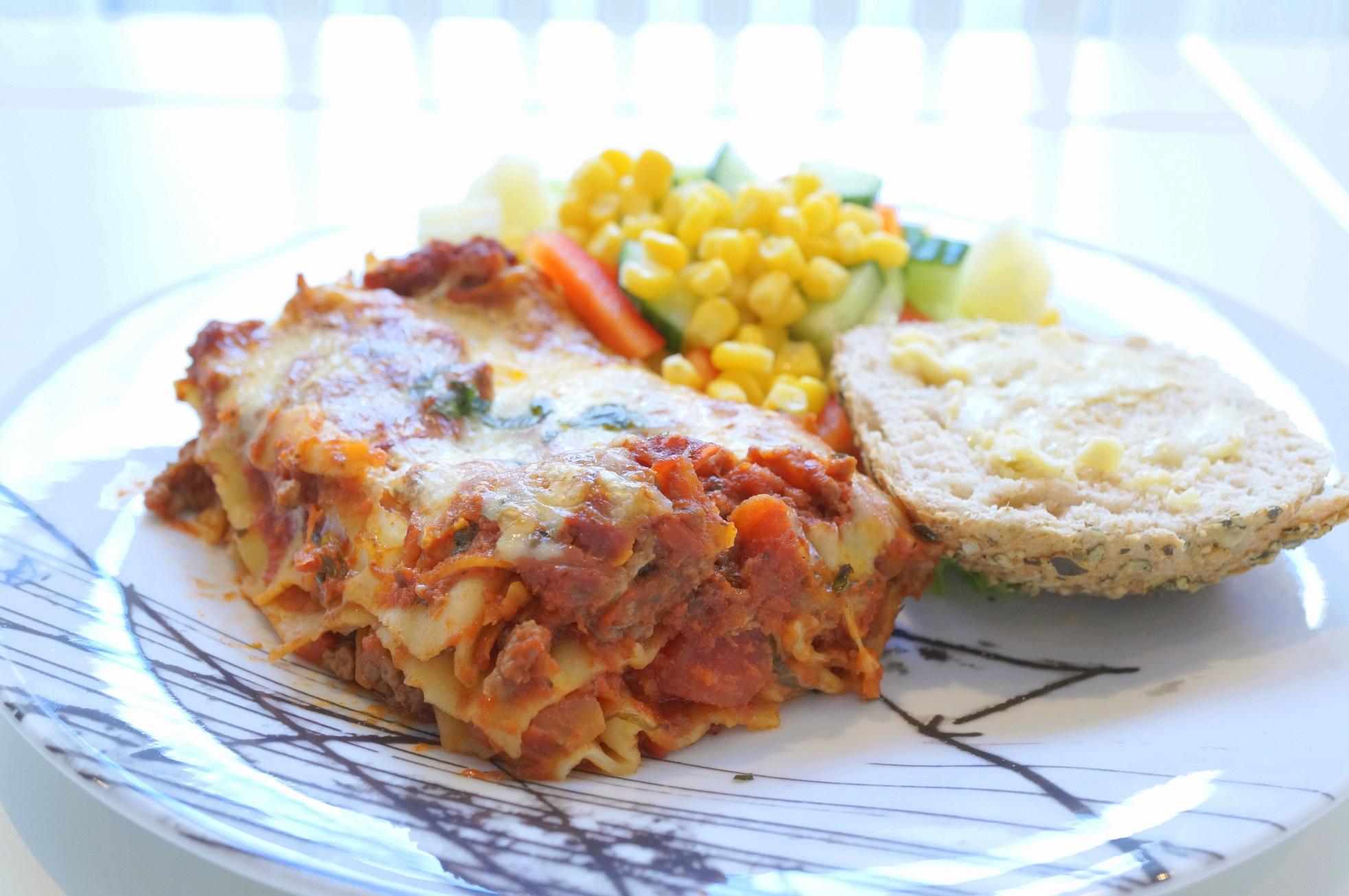 verdens beste hjemmelaget lasagne